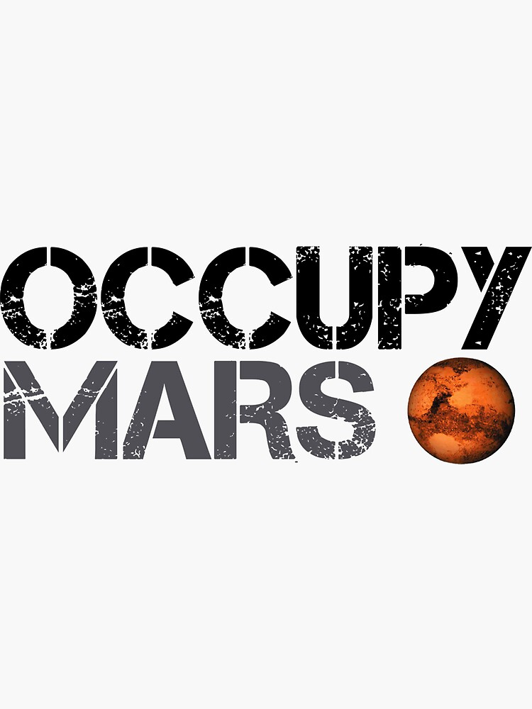 Occupy Mars - Space Planet - SpaceX de teedesiigner