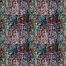 Abstract colorful pattern by Tanor