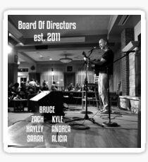 Board Of Directors OU Sticker