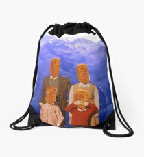 family multipack Drawstring Bag