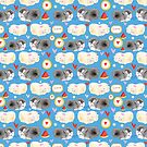 Pattern enamored hamster by Tanor