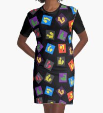 Readers Assemble vol. 4 Graphic T-Shirt Dress