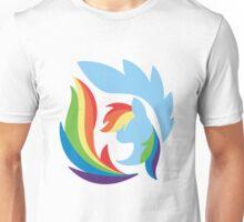 Emblem of Harmony - Rainbow Dash Unisex T-Shirt