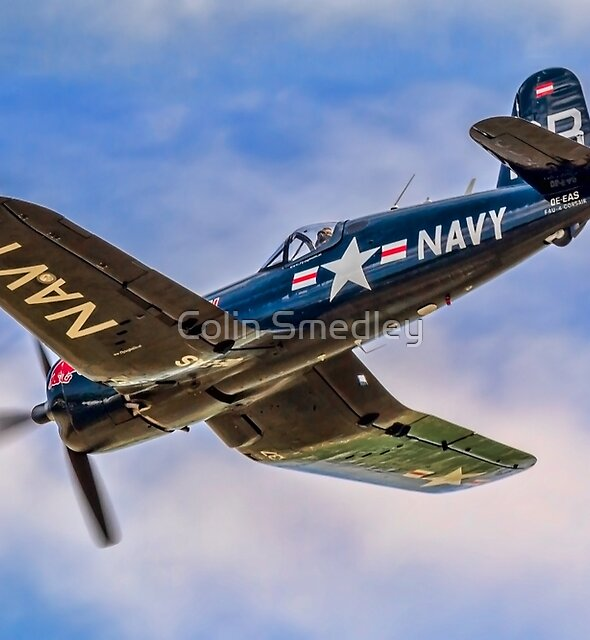 Chance Vought F4U-4 Corsair 96995 OE-EAS by Colin Smedley