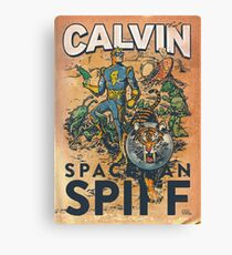 Calvin: The Spiffy Spaceman Canvas Print