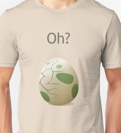 Oh? A hatching egg! Unisex T-Shirt