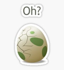 Oh? A hatching egg! Sticker