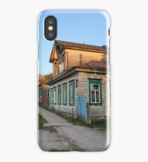 Old rural house iPhone Case/Skin