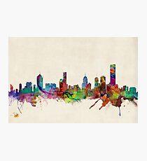 Melbourne Skyline Cityscape Photographic Print