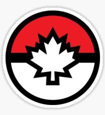 Canada Pokemon Logo Pokeball Sticker