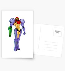 Samus Gravity Suit Postcards