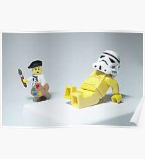 Lego Modern Art Poster