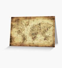 maps Greeting Card