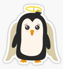 Penguin Angel   Sticker