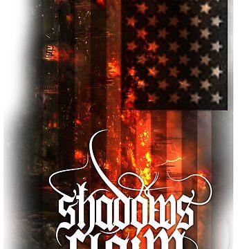 Shadow's Claim - Flag Tee (Black) by OhighO76