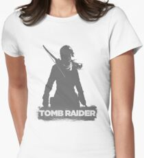 RISE OF THE TOMB RAIDER Women's Fitted T-Shirt