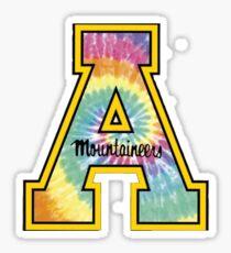 APP State tie dye Sticker