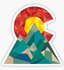 Pegatina Geo de Colorado