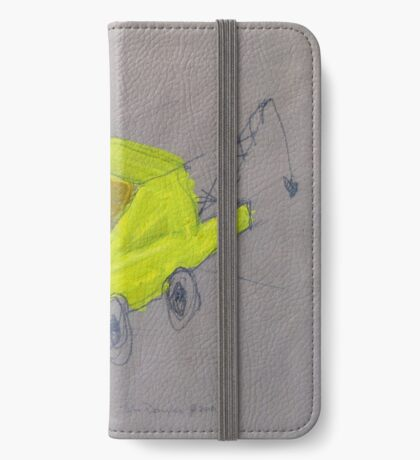 We Built A Yellow Tow Truck iPhone Wallet