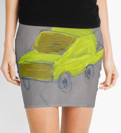 We Built A Yellow Tow Truck Mini Skirt