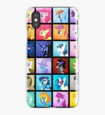 Pony Blocks iPhone Case