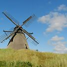 The Mill On The Hill by hans p olsen