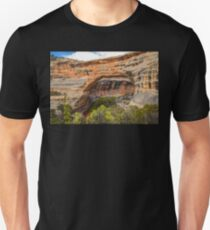USA. Utah. Natural Bridges National Monument. Sipapu Bridge. Unisex T-Shirt