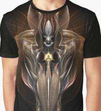 Portrait Of Arsencia On Black Vz Graphic T-Shirt
