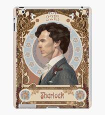 Sherlock Art Nouveau iPad Case/Skin