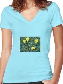 Dandelions Women's Fitted V-Neck T-Shirt