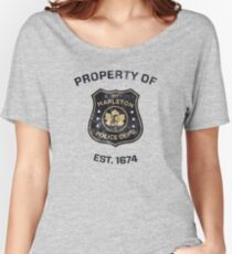 Property of Mapleton Police Dept. - The Leftovers Women's Relaxed Fit T-Shirt