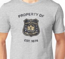 Property of Mapleton Police Dept. - The Leftovers Unisex T-Shirt