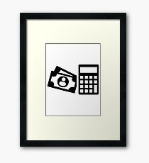 Tax consultant Framed Print
