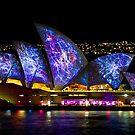 Galactic Sails - Sydney Vivid Festival - Australia by Bryan Freeman