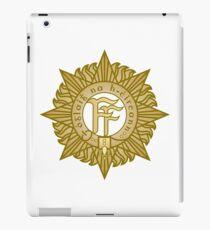 Irish defence forces crest iPad Case/Skin