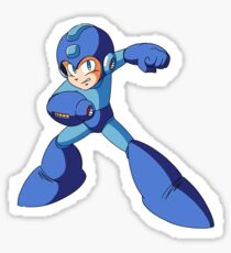 Mega Man Sticker