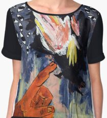 they could have been turkeys Women's Chiffon Top