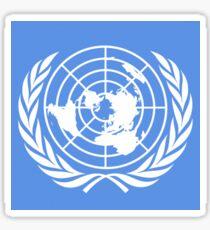 UN logo Sticker