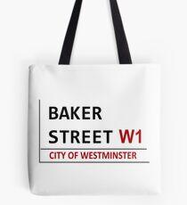 Baker Street Sign Tote Bag
