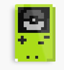 Gameboy color lime Metal Print