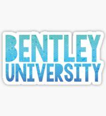 BENTLEY UNIVERSITY Sticker