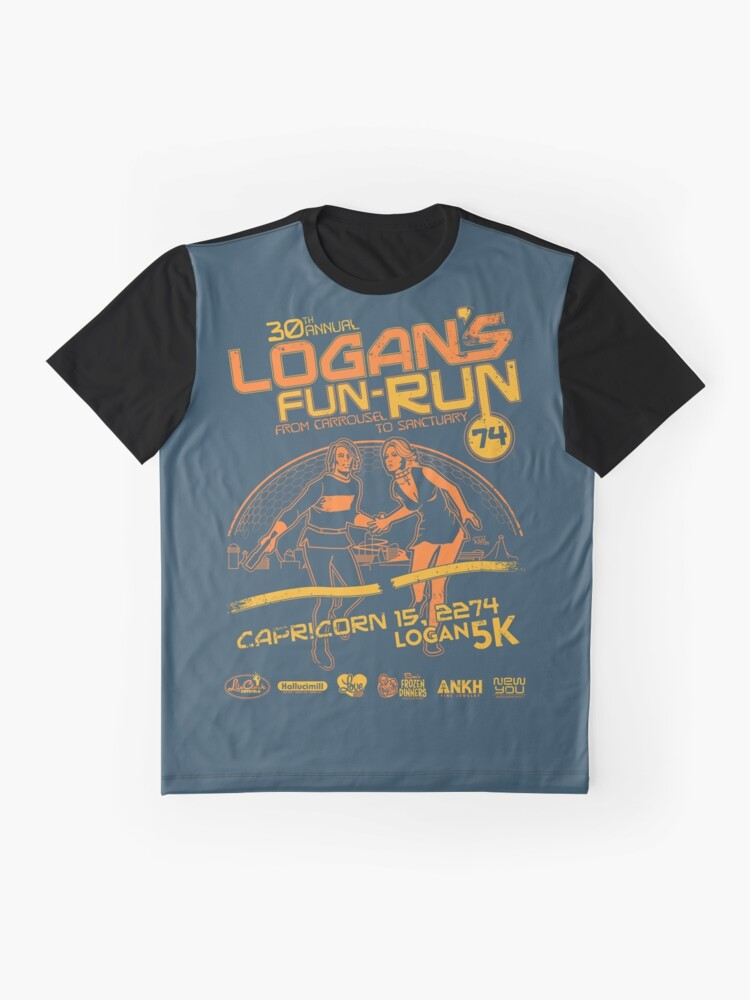 Alternate view of Logan's Fun-Run Graphic T-Shirt