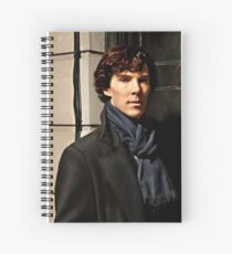 Sherlock at 221B Spiral Notebook