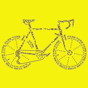 Bike in Words by Hendude