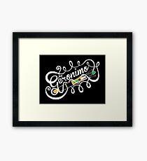Geronimo Framed Print