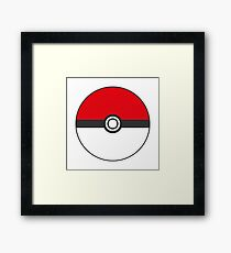 pokeball Framed Print