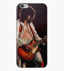 Jimmy Page In Led Zeppelin Painting iPhone Case