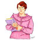 Barb from Stranger Things Portrait by Jason Edward Davis