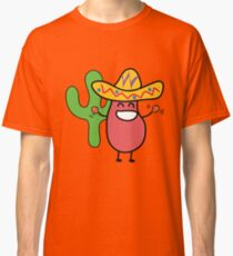 Little Mexican Jumping Bean - Cute Kids Cartoon Character Classic T-Shirt