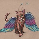 Some kitties are more regal than others (but all kitties think they are royalty) by justteejay